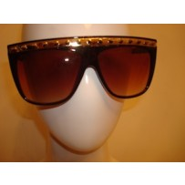 ISAK Studded Sunglasses -Brown