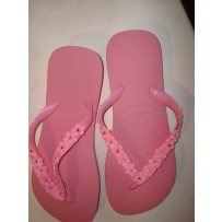 Havaiana Pink  Flop w/ Pink Daises