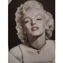 Marilyn Monroe Art Plague