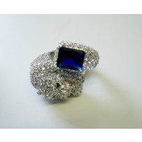 PANTHER RING DARK BLUE